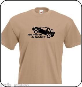 Freelander-039-Don-039-t-Follow-Me-039-Adult-T-Shirt