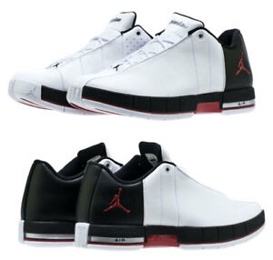 ad3e2d66b60 New AIR JORDAN Team Elite 2 Low Sneaker Mens white black red all ...