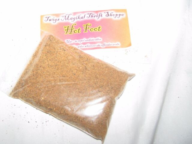 Twigs Hot Foot Powder Hoo Doo Wicca