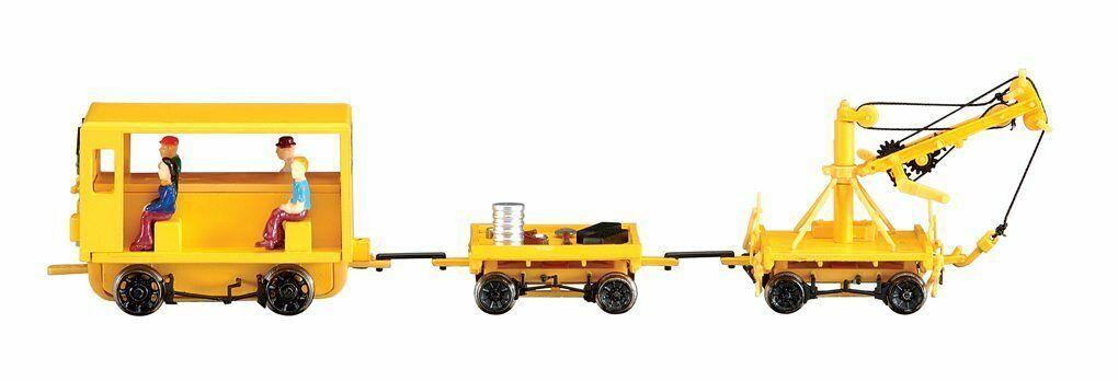 16946 Loco convoi personnel maintenance et grue Bachmann Spectrum Train HO 1 87