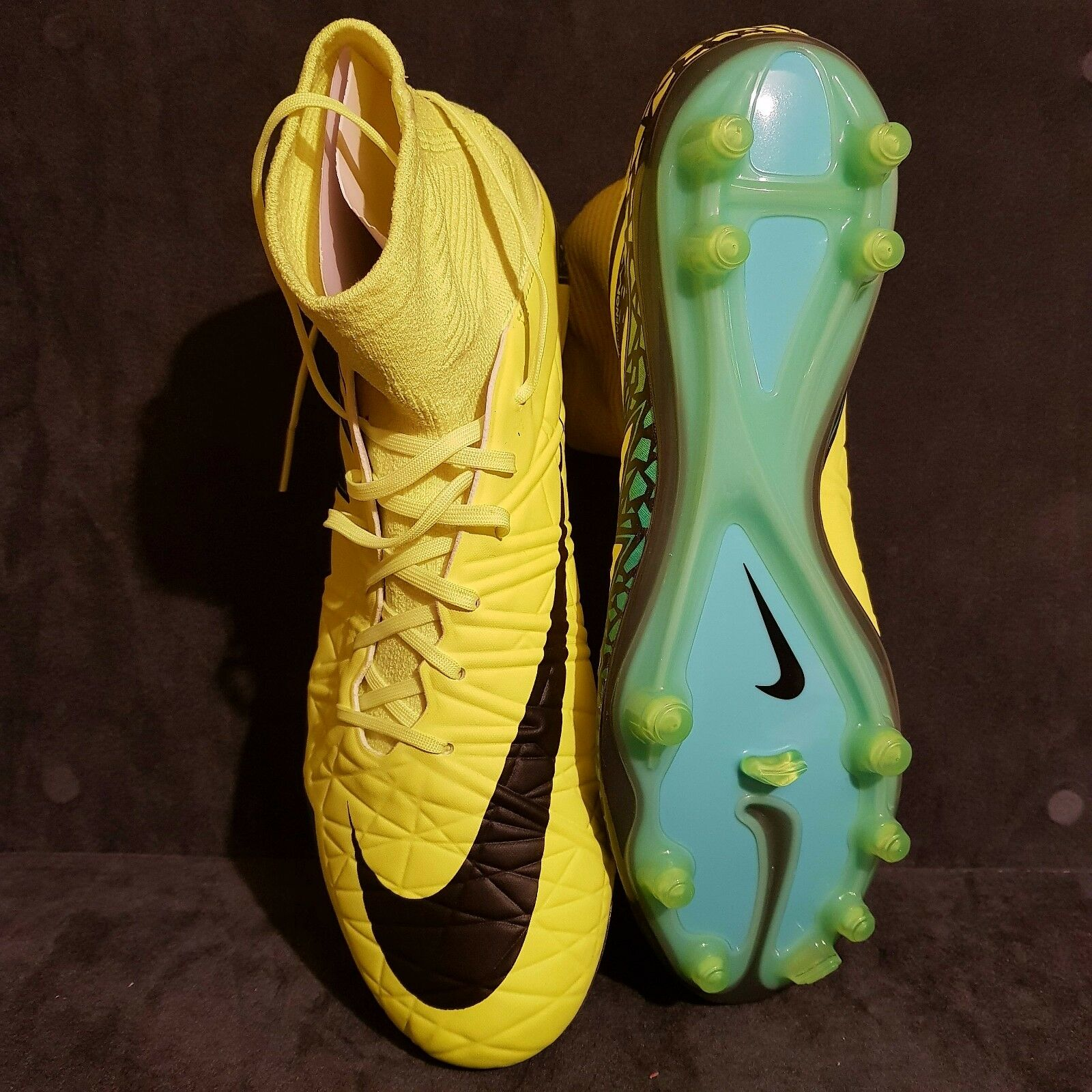 NIKE HYPERVENOM PHATAL 2 2 2 DF FG Soccer Cleats US 8,5   EU 42   (rrp ) 7ef84d