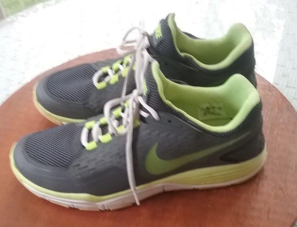 Nike uomini grigi di w   verde verde verde lime atletico scarpe buone condizioni sz 11 | Buona qualità  | Uomo/Donna Scarpa  7bd060