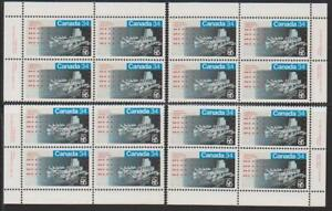 1986-Canada-SC-1078-Expo-86-039-Set-of-4-Plate-Blocks-M-NH-Lot-1802