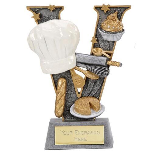 "Cookery BAKE OFF Trophy 6/"" or 7.25/"" FREE ENGRAVING Personalised Baking Award"