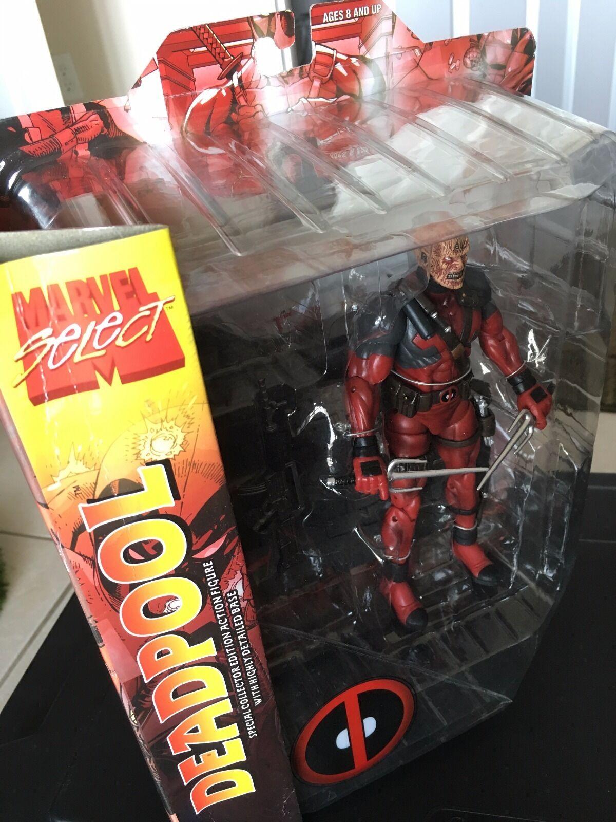 Marvel Select Deadpool Unmasked Variant NIB