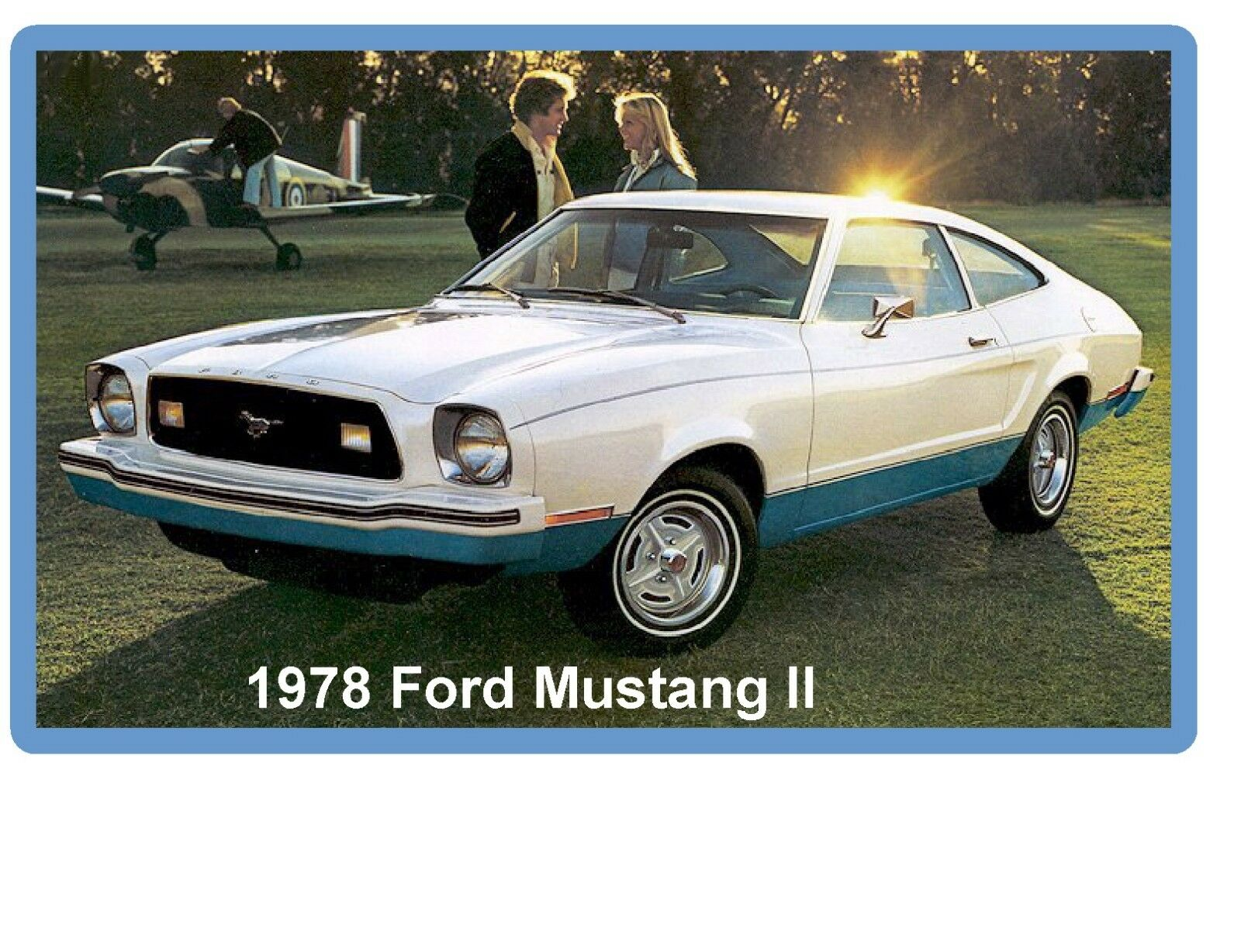 Tool Box Magnet 1978 Ford Mustang II 2+2 Refrigerator