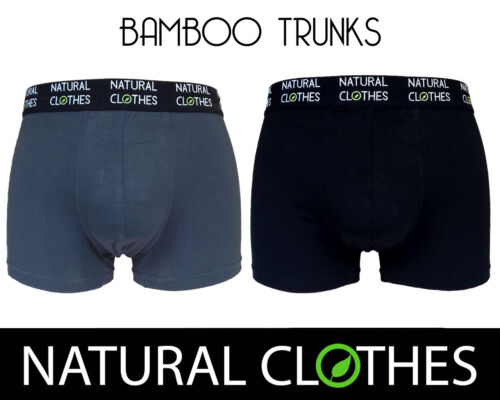 BAMBOO Boxer Trunks Slip antibatterico Ragazzi Premium vestiti naturale