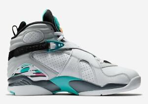 reputable site ff5d2 60c90 Details about Original Nike Air Jordan 8 Retro White Basketball Trainers  305381 113 DB8