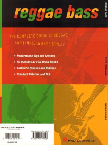 Ed Friedland Reggae Bass Method mit CD Noten Tab