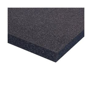 Adam-Hall-Mousse-Plastazote-PE-noire-200-cm-x-100-cm-x-60-mm