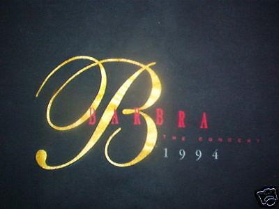 Ehrlich Barbra Streisand Vintage Konzert T-shirt Größe Xl