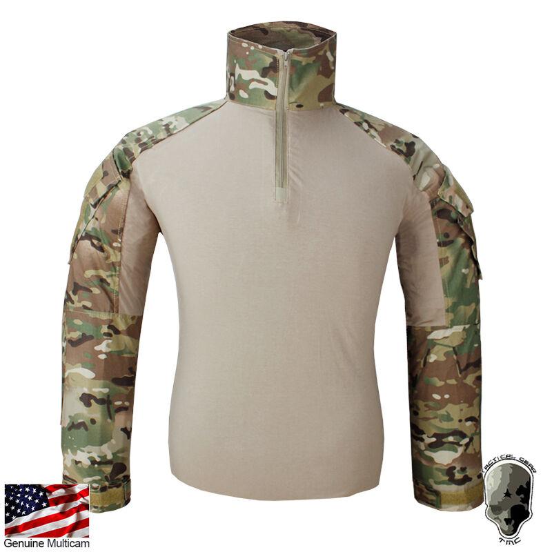 TMC G3 Combat Shirt Military BDU Army Airsoft Hunting Shirt MC WL WG TMC2439