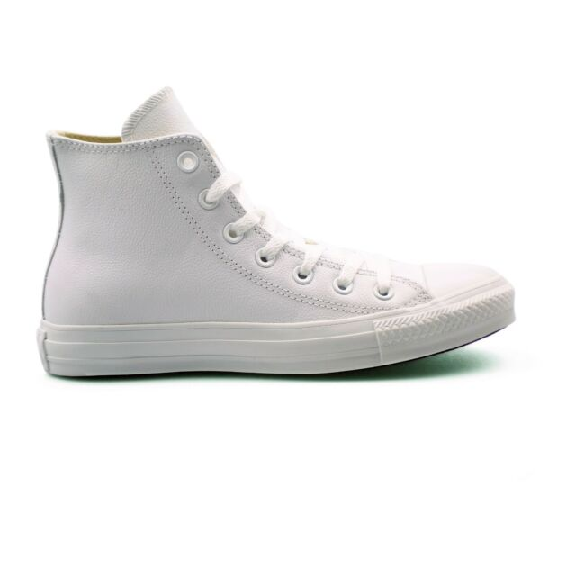 Converse 136822c Ct High Top White Leather Trainers Various Sizes Uk