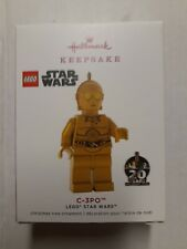 2019 Hallmark Keepsake Lego//Star Wars C-3PO Christmas Tree Ornament//$16.99 NIB