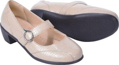 Cosyfeet Extra Roomy Florence Womens Heels 5 Colours 6E Fitting UK Sizes