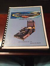 Sega Waverunner GP Arcade Game Owners Manual Wave Runner