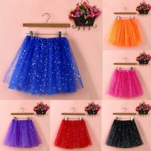 Womens-Girls-Sexy-Gauze-Pleated-Ballet-Tulle-Short-Mini-Dance-Skirt-Tutu-Dress
