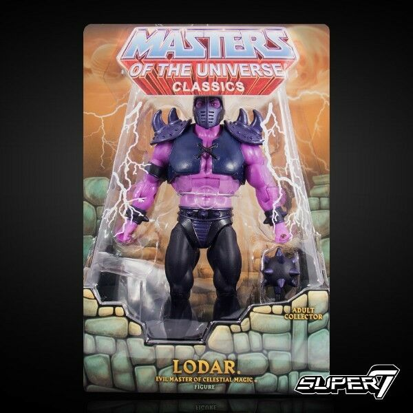 Lodar súper7 WAVE1 Collectors Elección Motu Classics Masters Universe He Man