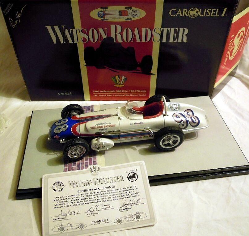 CAROUSEL 4403  Watson Roadster 1962,  98 P. Jones, Modèle en 1 18, NOUVEAU & NEUF dans sa boîte
