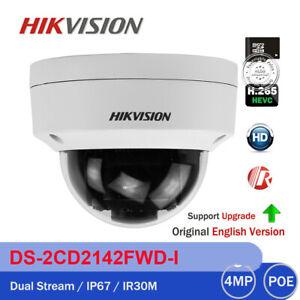 ÜBERWACHUNGSKAMERA 4K ULTRA-HD DOME DS-2CD2185FWD-I  8MP 4mm POE IP HIKVISION