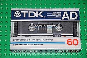USED IV   BLANK CASSETTE  TAPE TDK  SD   45  VS 1