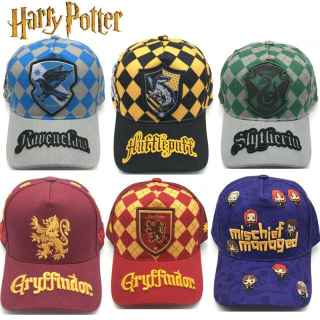 Official Harry Potter Gryffindor Crest Logo Snapback Cap Hat