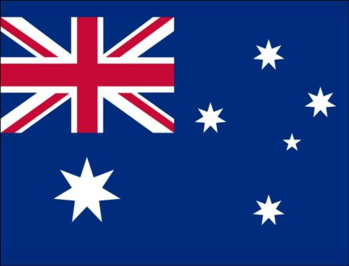 AUSTRALIA FREE P/&P AUSTRLIAN FLAG A4 ICING Cake Topper Can Be Personalised