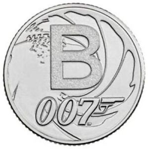 2018 A To Z 10 Pence Coin Bunc James Bond Letter B Early Strike Ebay