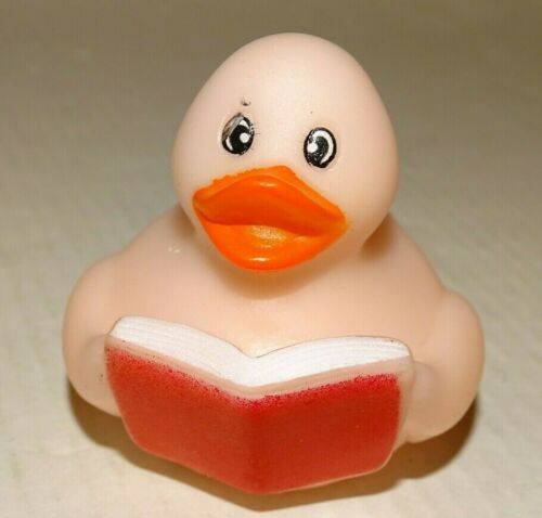 Rubber Duck Tiger Book Brown Camo Paint Splatter Green Pointed Head