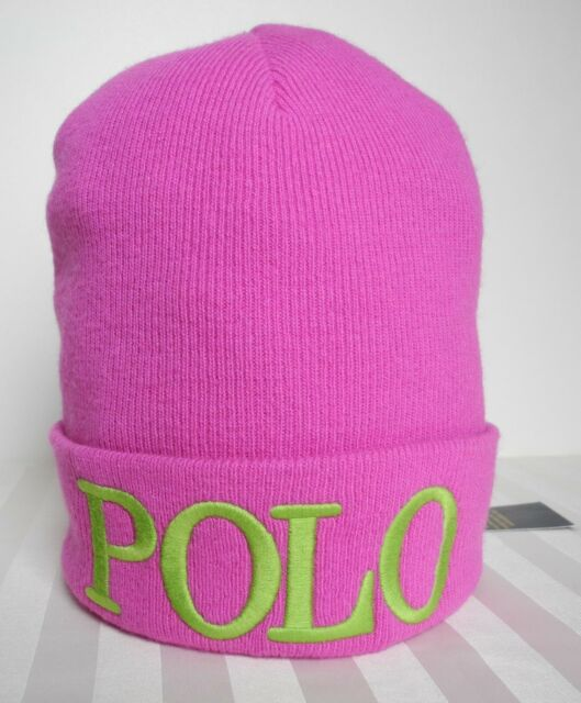 Buy Polo Ralph Lauren Beanie Hat Girl s Youth Knit Cap 7 - 16 Years ... ecc9f2ce5af
