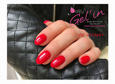 Vernis Semi Permanent NAILITY UV/LED/CCFL n°75 Red'Y 15ml GEL POLISH USA