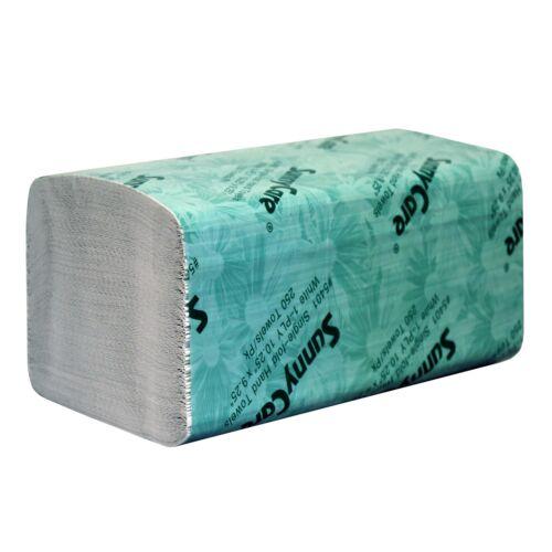 Big Size 4000//cs White Single Fold Paper Hand Towels 250//pk ;16pks//case C M N