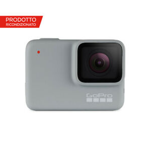 Videocamera GoPro HERO7 White ricondizionata per video in Full HD
