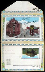 1915-Buffalo-NY-President-McKinley-Main-St-Parks-Shelton-Square