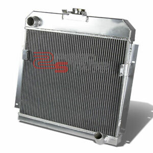 Details about FOR 53-54 DODGE TRUCK/CORONET/ROYAL THREE ROW/CORE FULL  ALUMINUM RACE RADIATOR