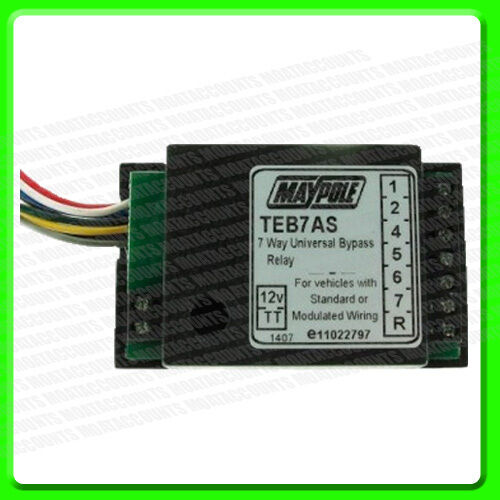 3877 Smart Filter Towing Relay 7 Way By Pass Stops Blown Bulb Light on Canbus