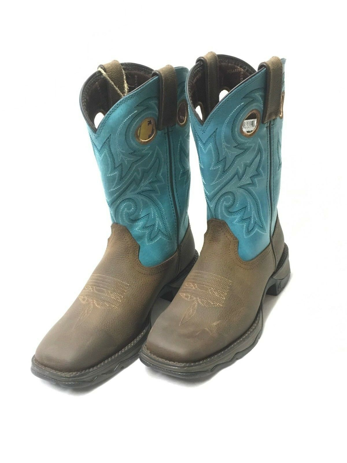 Lady Rebel by Durango Bar None Western Boots w Turquoise Tops Style DWRD016