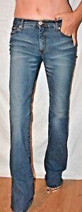 Blu Byblos Italy Jeans Signature Cute Lite Stretch Flare 26 Wow gwwdq6x