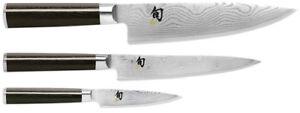 """Adroit Shun Classic 3.5"""" Paring 6"""" Utility & 8"""" Chef's 3 Piece Starter Knife Set Dms300 Acheter Un En Obtenir Un Gratuitement"""