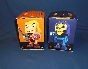 KUBROS Master of The Universe Skeletor 165 pcs He-Man 139 pcs SEALED MEGA BLOKS