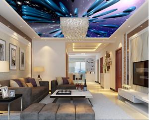 3D bluee Stones 42 Ceiling WallPaper Murals Wall Print Decal Deco AJ WALLPAPER UK