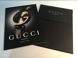 6b8f5323b2 Image is loading New-Catalogue-Catalogue-GUCCI -TimePieces-Heritage-Leaflet-For-