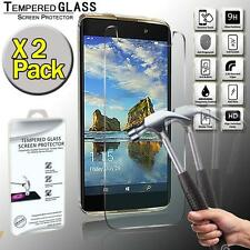 2 Pack Tempered Glass Film Screen Protector Cover For Alcatel Idol 4S Windows