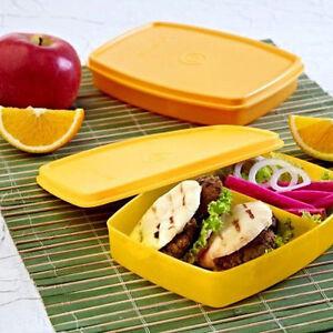 Tupperware Classic Slim Lunch BIG - Best Lunch For Schook Kids