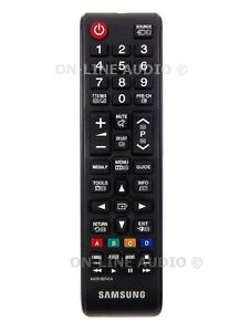 Genuine Samsung AA59-00543A LCD TV Remote Control for UE40D7000 UE40D8000