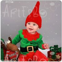Crochet Baby Red Gnome Hat 18 Gnome Hat Great Photo Prop