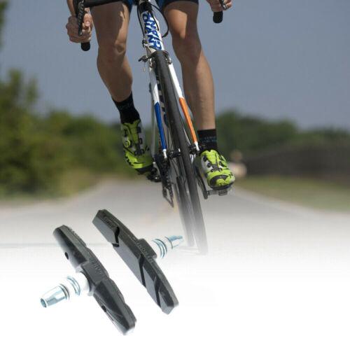 1Pair Outdoor MTB Bicycle 70mm V-Type Brake Holder With Brake Pads Premium