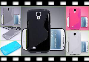 Slim-Case-Cover-Schale-Etui-Samsung-Galaxy-S4-IV-Handy-Bumper-Schutz-Huelle-TPU