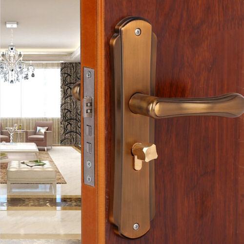 New Antique Mechanical Lock Interior Door Handle Lock Bedroom Fashion