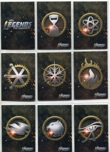 DC Legends Of Tomorrow Complete Icons Chase Card Set I1-9